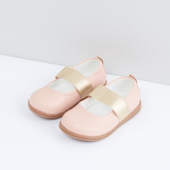 Slip-On Shoes with Glitter Band