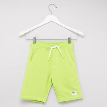 Solid Knitted Shorts