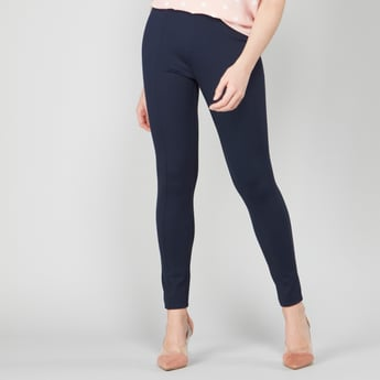 Ponte Leggings with Elasticated Waistband