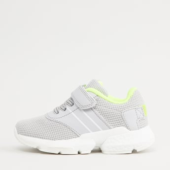 Mesh Detail Sports Shoes with Snap Closure