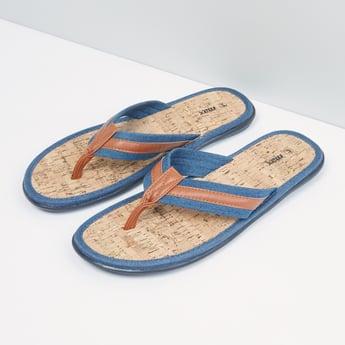 Stitch Detail Flip Flops