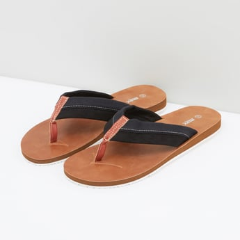 Flip Flops with Stitch Detail Straps
