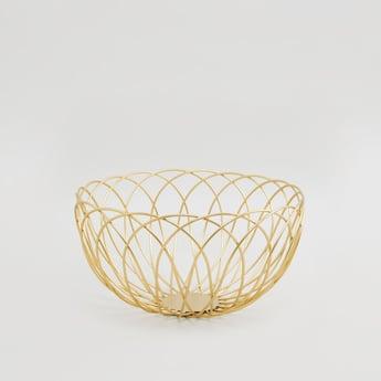 Decorative Metallic Basket