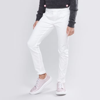 Plain Jeggings with Pocket Detail and Elasticised Waistband