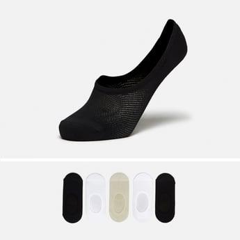 جوارب غير مرئية بارزة الملمس - طقم من 5 أزواج