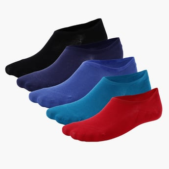 No Show Socks - Set of 5