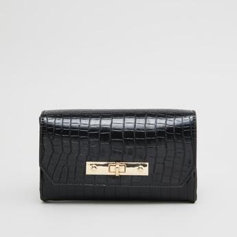 Textured Belt Bag with Adjustable Strap