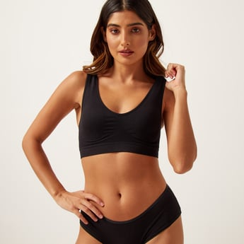 Padded Non-Wired Seamless Shaping Bra