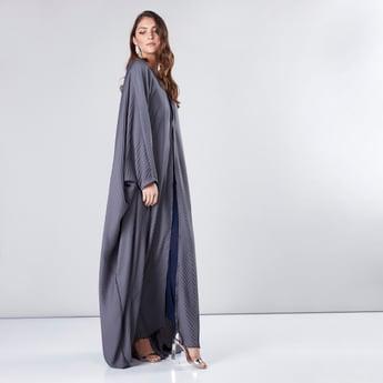 Farasha Cut Pleated Abaya