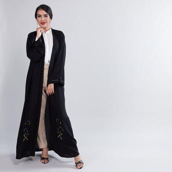 Embellished Abaya with Full Sleeves