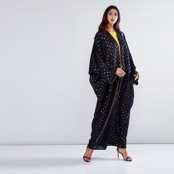 Polka Dot Printed Abaya