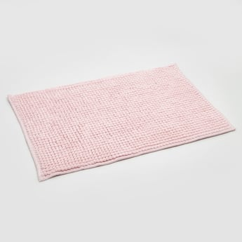 Textured Rectangular Bath Mat