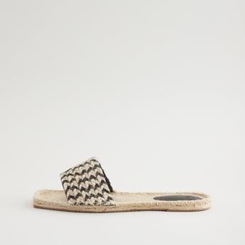 Braided Flat Sandals