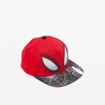 Spider-Man Print Baseball Cap