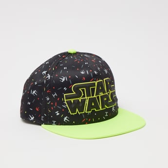 Star Wars Print Cap with Snap Closure