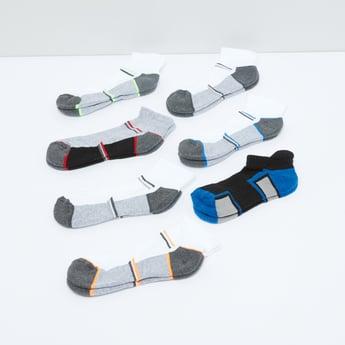 جوارب مقلّمة - طقم من 7 أزواج