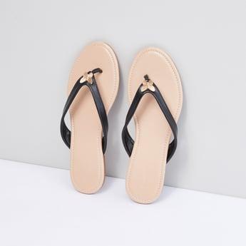 Applique Detail Flip Flops