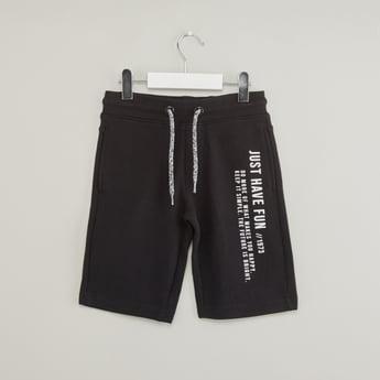Printed Shorts with Drawstring