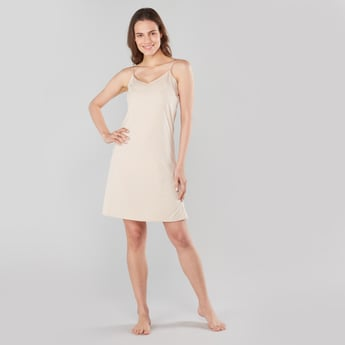 Solid Shaping Camisole with Adjustable Spaghetti Straps