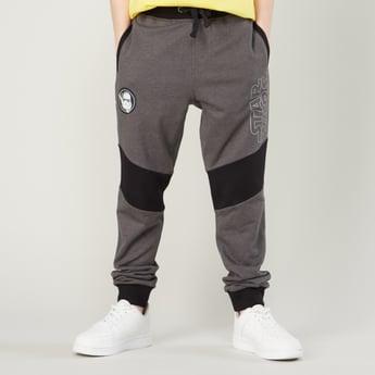 Star Wars Printed Jog Pants with Pocket Detail