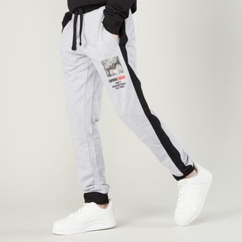 Star Wars Printed Jog Pants with Side Panel Detail