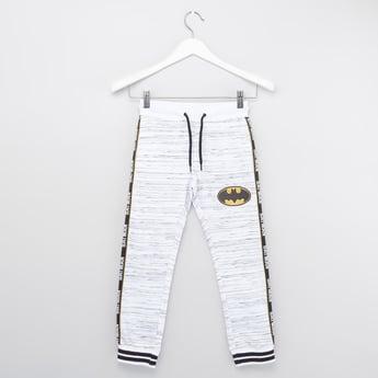 Batman Print Jog Pants with Drawstring