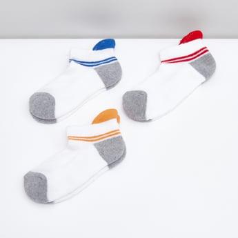 Set of 3 - Printed Ankle Length Sports Socks