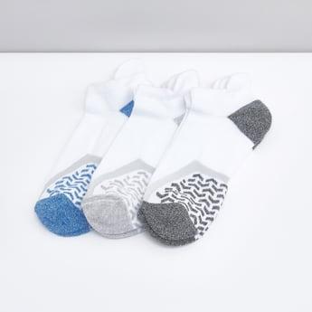 Set of 3 - Printed Ankle Socks