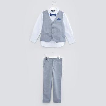 طقم ملابس بطبعات - 3 قطع