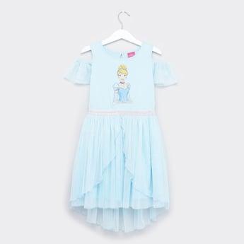 Disney Cinderella Cold Should Dress with Asymmetric Hem