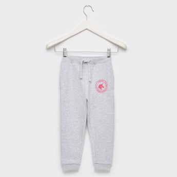 Full Length Solid Anti-Pilling Joggers with Drawstring Closure