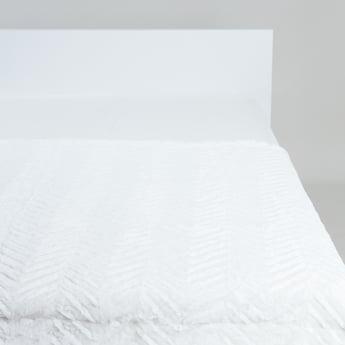 بطانية خفيفة بارزة الملمس - 152x127 سم
