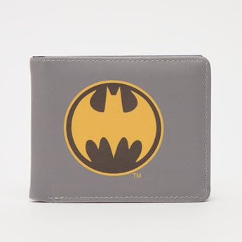 Batman Logo Print Wallet