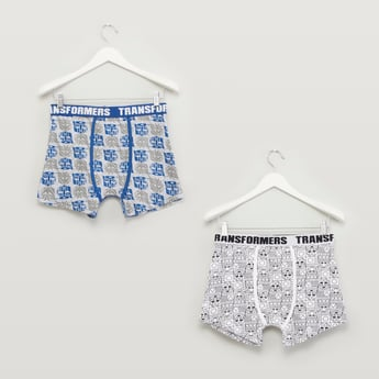 Set of 2 - Transformers Printed Trunks