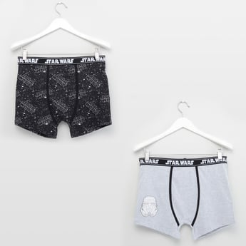 Set of 2 - Star Wars Assorted Printed Trunks