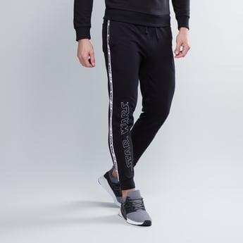 Slim Fit Star Wars Printed Mid Waist Jog Pants