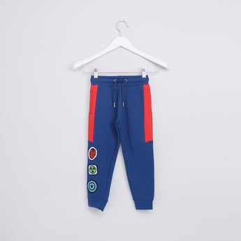 Superheroes Printed Jog Pants with Drawstring
