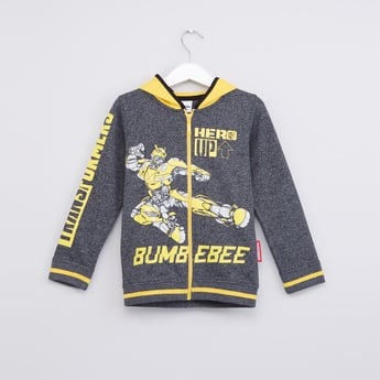 Transformers Printed Long Sleeves Jacket