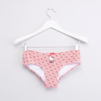 Hello Kitty Printed Boyshorts with Bow Detail