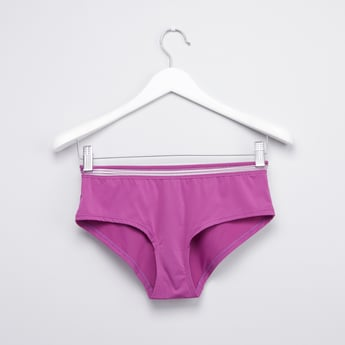 Hipster Briefs with Elasticised Waistband