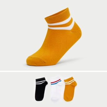 Set of 3 - Ankle Length Socks