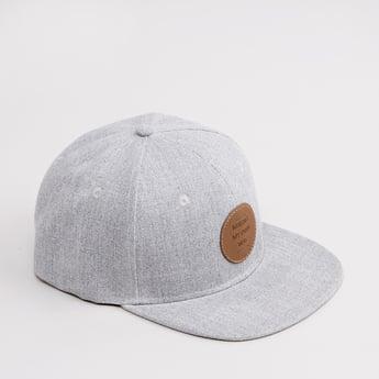 Solid Cap with Applique