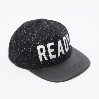 Text Print Baseball Cap