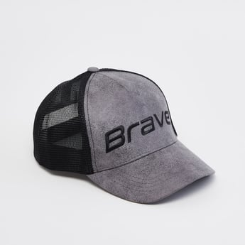 Textured Cap with Hook and Loop Closure