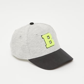 Textured Cap with Snap Closure