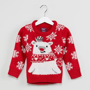 MAX Graphic Print Sweater