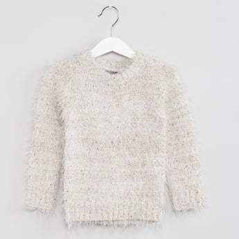MAX Fuzzy Full Sleeves Sweater