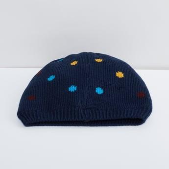 MAX Jacquard Knitted Beanie