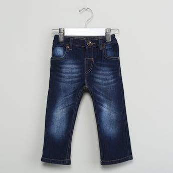 MAX Acid-Washed Slim Fit Jeans