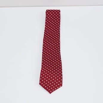 MAX Geometric Pattern Tie